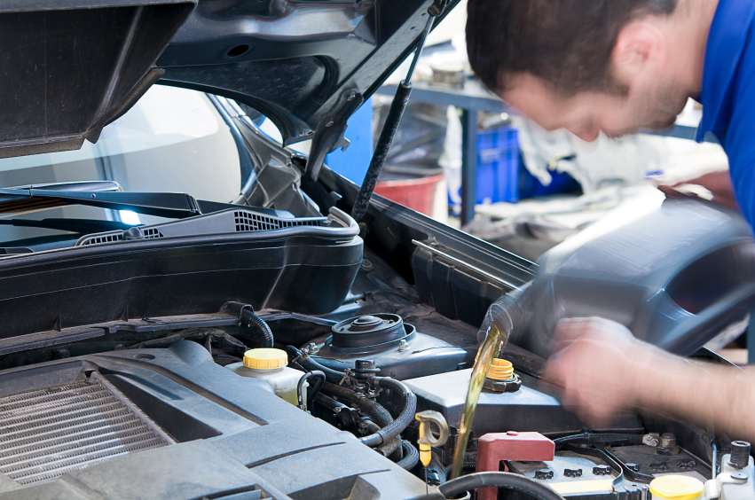 The basics of changing car oil